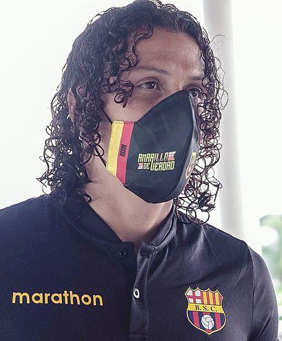 William Ismael Riveros Ibáñez (28), defensor paraguayo del Barcelona.