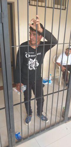 José Enrique Benítez fue recapturado minutos después.
