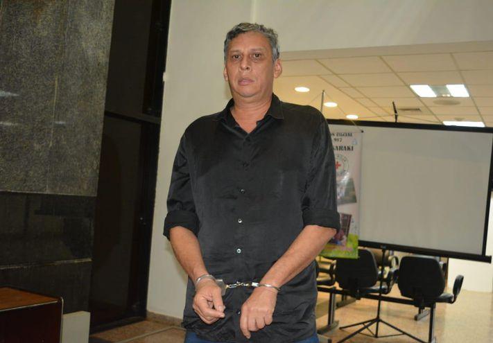 Édgar Américo Chilavert Diana, acusado.