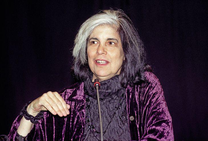 La escritora estadounidense Susan Sontag en 1996. EFE/Espinosa. J. M. ESPINOS