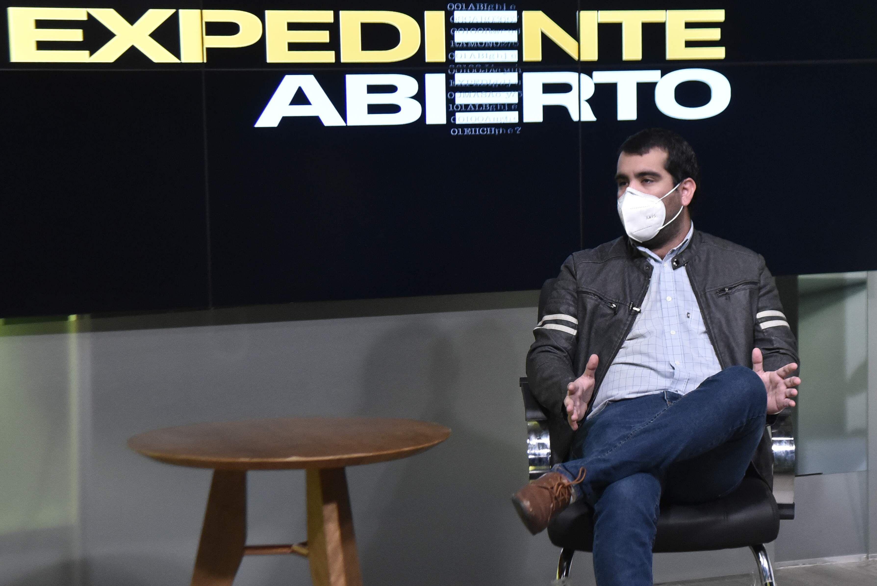 Fernando Krug, exdirigente del movimiento estudiantil que tumbó a Froilán Peralta de la UNA.