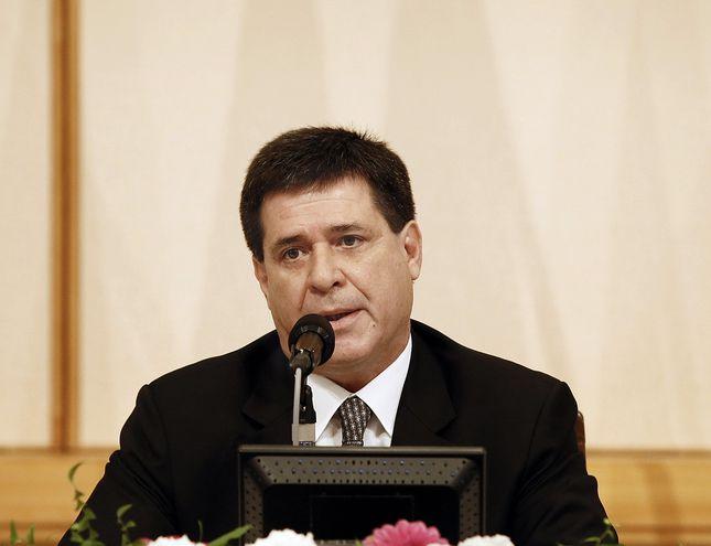 Expresidente Horacio Cartes.