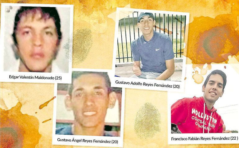 "Édgar Valentín Benítez Maldonado (25), alias ""Meca""."